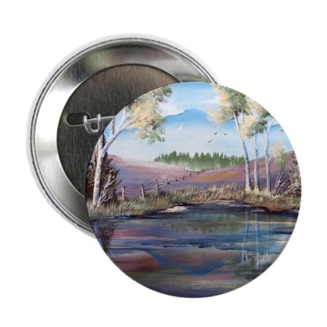 Countryside View 2.25&quot; Button (100 pack)