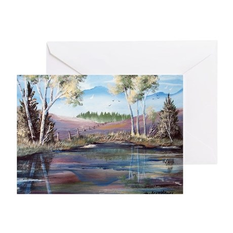 Countryside View Greeting Cards (Pk of 10)