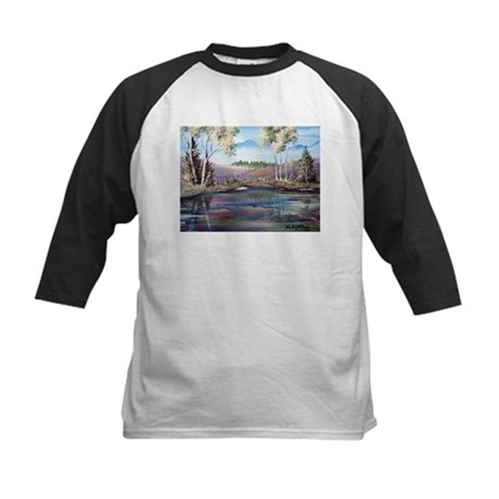 Countryside View Kids Baseball Jersey
