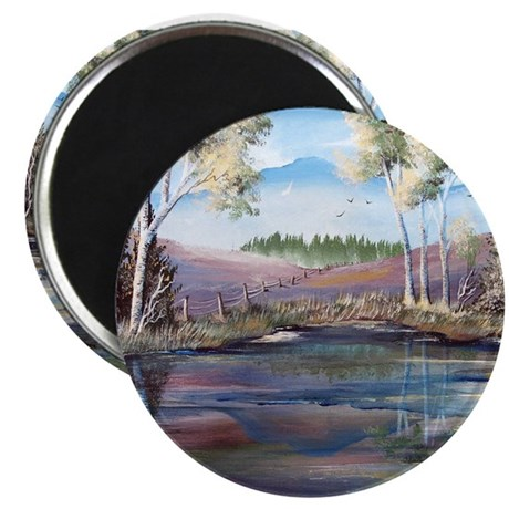 Countryside View 2.25&quot; Magnet (10 pack)