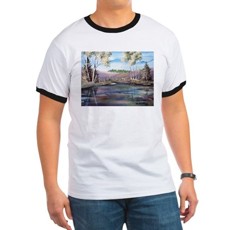 Countryside View Ringer T