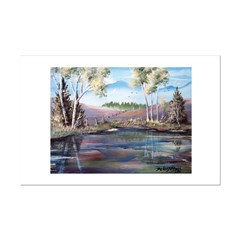 Countryside View Mini Poster Print