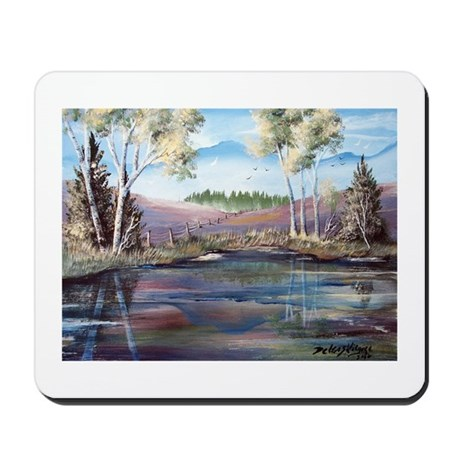 Countryside View Mousepad