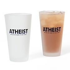 Atheist Star Stuff Drinking Glass