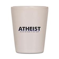 Atheist Star Stuff Shot Glass