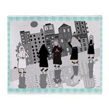 Catholic Nuns Throw Blanket