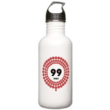 99 Red Balloons Water Bottle