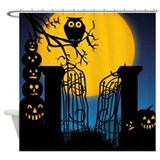 Spooky Halloween 4 Shower Curtain