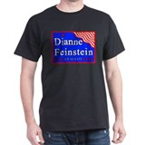 California Dianne Feinstein US Senate Black T-Shir