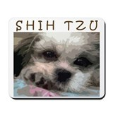 Shih Tzu Pop Art Matilda Mousepad