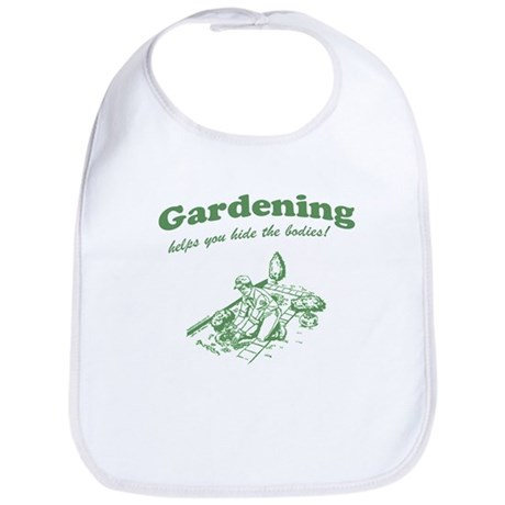 Gardening Helps Bib
