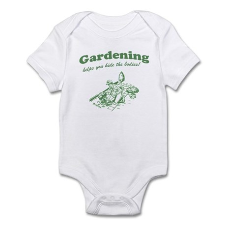 Gardening Helps Infant Creeper