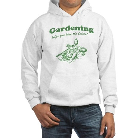 Gardening Helps Hooded Sweatshirt