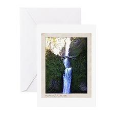 Multnomah falls, OR Greeting Cards (Pk of 10)