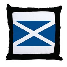 Scotland Flag, Scottish Flag Throw Pillow