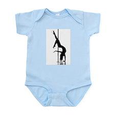 pole dancer 1 Infant Bodysuit