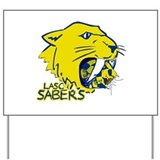 LASC Sabers Yard Sign
