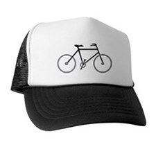 Black and Silver Cycling Trucker Hat