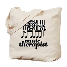 Music Therapist Gift Tote Bag