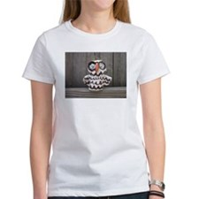 Ceramic Owl by Lisa Kobis. Women's T-Shirt