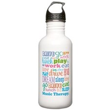 Music Therapy Colorful Water Bottle