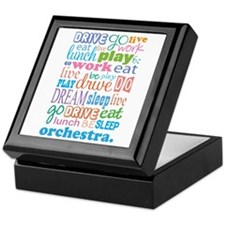 Orchestra Gift Keepsake Box