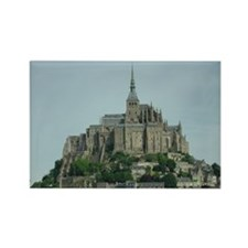 Mont Saint Michel Rectangle Magnet