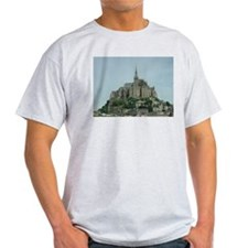 Mont Saint Michel Ash Grey T-Shirt