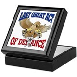 Last Great Act of Defiance v3 Keepsake Box