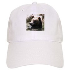 ALERT GRIZZLY BEAR Baseball Cap