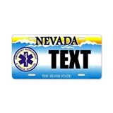 Nevada EMS Custom License Plate