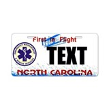 North Carolina EMS Custom License Plate