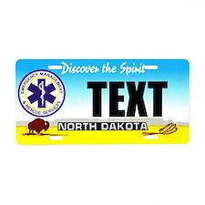 North Dakota EMS Custom License Plate