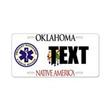 Oklahoma EMS Custom License Plate