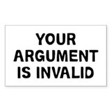 Your Argument Decal