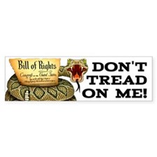 DTOM - Don't Tread on Me! Bumper Bumper Sticker