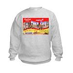 Mac Dill Field Florida (Front) Kids Sweatshirt