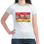 Mac Dill Field Florida (Front) Jr. Ringer T-Shirt