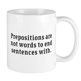 Prepositions Mug