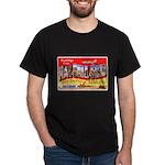 Mac Dill Field Florida (Front) Black T-Shirt