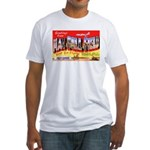 Mac Dill Field Florida (Front) Fitted T-Shirt