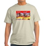 Mac Dill Field Florida (Front) Ash Grey T-Shirt