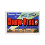Drew Field Tampa Florida Rectangle Magnet (10 pack