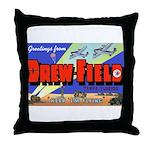 Drew Field Tampa Florida Throw Pillow