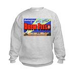 Drew Field Tampa Florida (Front) Kids Sweatshirt