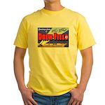 Drew Field Tampa Florida Yellow T-Shirt