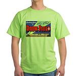 Drew Field Tampa Florida Green T-Shirt