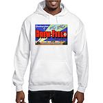Drew Field Tampa Florida (Front) Hooded Sweatshirt