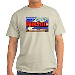 Drew Field Tampa Florida (Front) Ash Grey T-Shirt