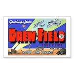 Drew Field Tampa Florida Rectangle Sticker
